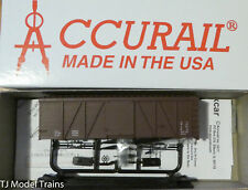 Accurail HO #1198 Data Only-Mineral Red 36' Fowler Wood Boxcar