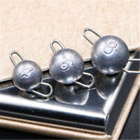 50pcs Fishing Cheburashka Sinker Jig Head Lead 4g/6g/8g/10//12g/14g