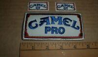 Vintage Camel Pro GT IMSA Vintage jacket shirt hat PATCH lot auto racing x3