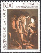MONACO 1993 GEORGES DE LA TOUR/Artisti/ARTE/PITTURA/Persone/SANTI 1 V (n43138)