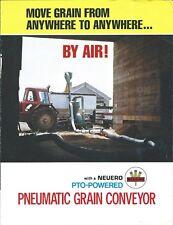 Farm Equipment Brochure - Neuero - Pto Powered Pneumatic Grain Conveyor (F6425)