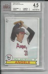 1979 Topps #115 - Nolan Ryan (HOF), L.A. Angels : BVG 9,8,5,4 (VG-EX+)