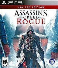 Sony PS3 Assassin's Creed: Rogue Limited Edition Brand New Factory Sealed