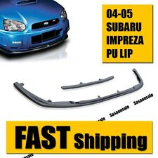 Made for 04-05 SUBARU IMPREZA WRX STi STYLE FRONT PU BUMPER LIP BODY KIT