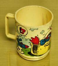 1980 Smurfs- DEKA Plastic Mug
