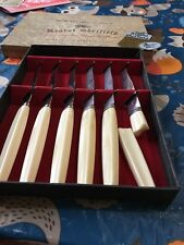 Regent Sheffield English Stainless steak Knife set