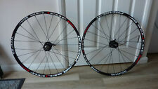 "Selcof Premium WHP26 carbon alloy clincher 26"" mountain bike disc wheels nr mint"