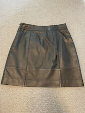 Ladies Luxury Leather Boden sample Skirt Approx Size 12