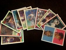 Original 20 1986(1) - 1989 Sportflick Baseball Hologram Cards