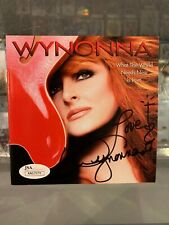 WYNONNA JUDD ''WHAT THE WORLD NEEDS NOW IS LOVE'' SIGNED CD INSERT JSA AUTH AUTO