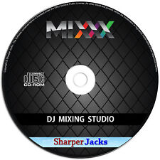 NEW & Fast Ship! Mixxx DJ Mix Creator / Broadcaster Mixer Software - PC Disc