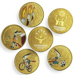 Qatar Doha 2006 15th Asian Games - Album of 6 Coins - Olympic Style Sports Event