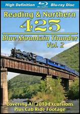Reading & Northern 425 Blue Mountain Thunder Vol 2 BLU-RAY NEW steam train video