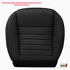 2005 2006 2007 Ford Mustang GT - PASSENGER Bottom Perforated Leather Black Cover