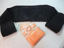 Wärmegürtel Nierengürtel Heatpack- Hitzepack Nierengurt  schwarz mit Tasche