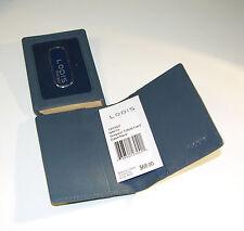 LODIS 1373GY NAV10 Grayson Tri-Fold Card Case / Wallet ~ NAVY * Ret.: $68 ~ $AVE