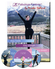 Easy Exercise 3 DVD Set : Easy Cardio, Strength & Stretch by Mirabai Holland