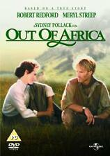 Out of Africa DVD Meryl Streep, Robert Redford UK Region 2 New & Sealed