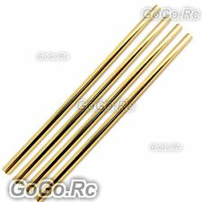 4 Pcs Tail Boom 347mm  For Trex 450 V2 V3 PRO Helicopter - Gold (LM450-031x4)
