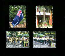Cook Islands - Anzac Day / Anniversaries of Boy Scouting and Girl Guides Singles