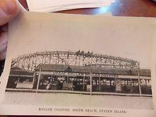 5x7 Photo Reprint Roller Coaster SI Staten Island NYC New York City