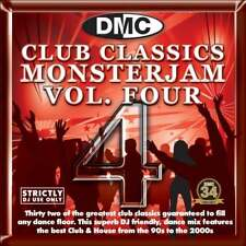 DMC Club Classics Monsterjam Vol 4 Dance Party DJ CD Mixed By Kevin Sweeny