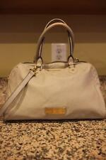 MARC BY MARC JACOBS Light Grey Leather CONVERTIBLE  Satchel Bag (PU180