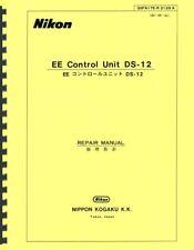 Nikon Ee Control Unit Ds-12 Repair Manual Reprint