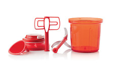 Tupperware Preparation Smooth Chopper 1.35l Extra Chef Red