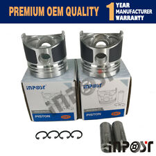 New Piston Set STD 67mm for Kubota Z482