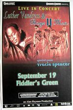 "Luther Vandross /Boyz ll Men ""Live In Concert"" 2000 Denver Tour Poster-R&B Music"