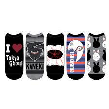 Tokyo Ghoul Unisex Low Cut Socks 5 Pack Set 1