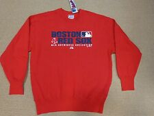 VINTAGE MLB Boston Red Sox  Heavy Weight Sweat Shirt  by Majestic ( L )