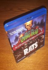 HELL OF THE LIVING DEAD/RATS Bluray US import Blue Underground region a free abc
