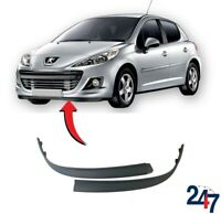 FRONT BUMPER LOWER SPOILER SPLITTER TRIM SET COMPATIBLE WITH PEUGEOT 207 06-09