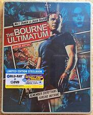Steel Book - The Bourne Ultimatum (Blu-ray + DVD + DIGITAI HD) (Limited Edition)