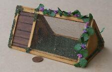 1:12 Scale Empty Wooden Pet Hutch Tumdee Dolls House Miniature Garden Rabbit