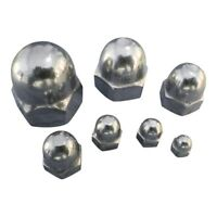 Dome Nut Made From 316 Stainless Steel A4 Marine Grade, Metric Thread