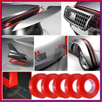 Lot 5pcs 3M Double Sided Adhesive Sticky Mounting Tape Clear Car Auto Repair