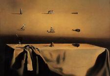 Framed Print - Salvador Dali Morphological Echo (Painting Picture Poster Art)