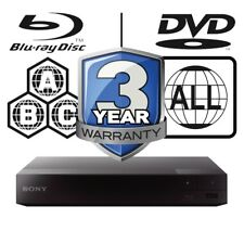 Sony BDP-S3700 All Zone Code Free MultiRegion Blu-ray Player BDPS3700B.CEK