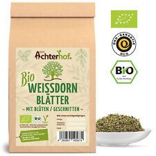 Aubépine Thé Bio | 100 G | Aubépine feuilles avec fleurs coupés | weißdorntee