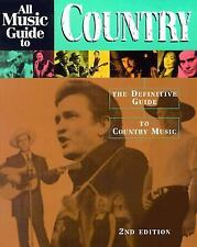 All Music Guide to Country: The Definitive Guide to Country Music-ExLibrary