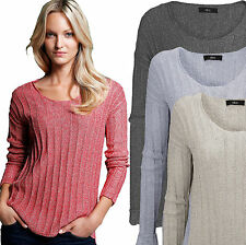 Women's Polyester Medium Knit Long Sleeve Jumpers & Cardigans