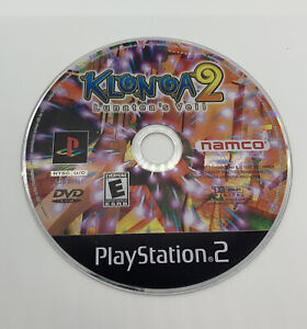 Klonoa 2: Lunatea's Veil  PS2 Playstation 2 Game Working TESTED DISC ONLY