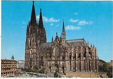 Koln Am Rhein Church Cathedral Cologne Germany Oversize vintage postcard NOS d