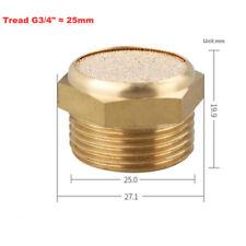 """1pc Flat Cylinder Pneumatik Geräuschdämpfer Schalldämpfer Muffler Silencer G3/4"""""""