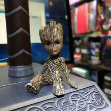 Best Gift Guardians of the Galaxy Groot Sitting Baby PVC Action Figure With Box