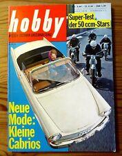 Hobby 09/1964 Test DKW F 12,DKW Hummel 166,Hercules K 50,Honda C 110,Kreidler Fl