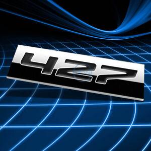 METAL EMBLEM DECAL LOGO SIGN TRIM BADGE STICKER 3D POLISHED BLACK 427 LETTERING